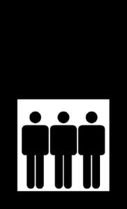 icona ascensore mod 300